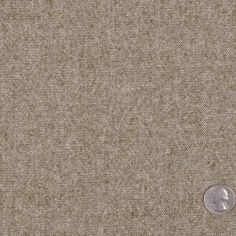 This is a medium weight, stretch, wool tweed. Smooth-handed, great for suiting. $14
