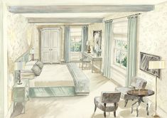 INTERIOR DESIGN ∙ Watercolours - Todhunter EarleTodhunter Earle