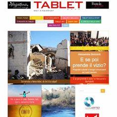 Pubblicato il numero 9 del #settimanale #online Tablet Roma! Nuovi approfondimenti e nuovi articoli su www.tabletroma.it