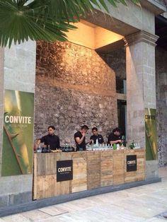Barra de #GreenDrinks en #FashionGreenMX