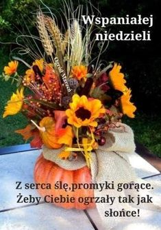 Wreaths, Fall, Pictures, Art Floral, Paintings, Disney, Floral Arrangements, Good Morning Funny, Polish