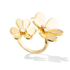 Frivole Between the Finger ring, Gold-VCARB67600-Van Cleef & Arpels