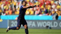 Dutch winger Memphis Depay became the Netherlands' @onsoranje youngest ever #WorldCup scorer