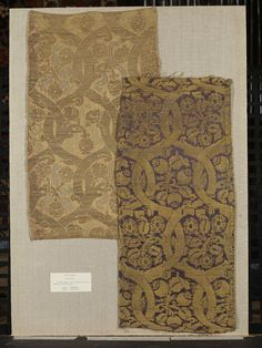 Woven silk, Italy 15th century | | V&A Search the Collections