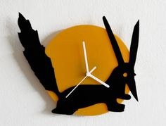 The Little Prince FOX - Le Petit Prince - Wall Clock
