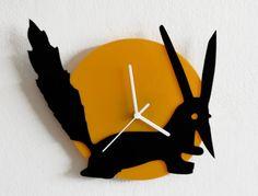 The Little Prince FOX - Le Petit Prince - Wall Clock