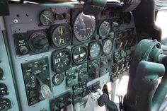 "Fairchild C-123K ""Provider"" co-pilot side cockpit"