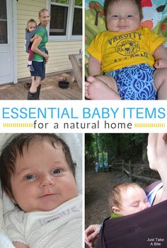 When you are preparing for a baby there are so many gizmos and gadgets to choose from! You don't need most of them. Here are my essential baby items for a natural home.