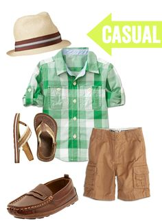 Little style - Casual, when he comes down to Puerto Rico to see me.
