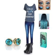 Eyeless Jack by jinxx-and-silence on Polyvore featuring City Chic, Aéropostale and plus size clothing
