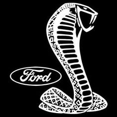 Ford White Shelby Cobra Car Graphic T Shirt  by OldSaltSailorTees