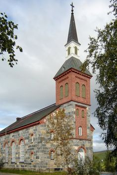 Church of Utsjoki, Lapland - Utsjoen kirkko - Photo BishkekRocks / Wikimedia