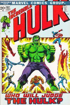 Incredible Hulk #152. Cover by Herb Trimpe.  #Hulk #HerbTrimpe