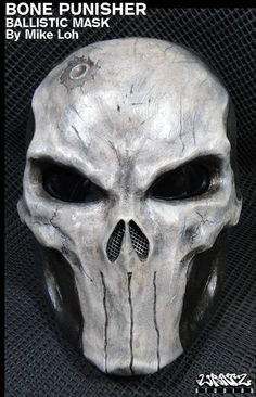 Bone Punisher Mask By Mike Loh