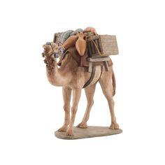 Camello con cajas - Tienda de Belenes, Nacimientos, Pesebres - Galeria Chabix