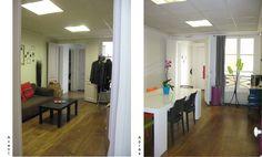 Aménagement et choix de mobilier d'une salle de réunion. Divider, Room, Furniture, Home Decor, Bedroom, Decoration Home, Room Decor, Rooms, Home Furnishings