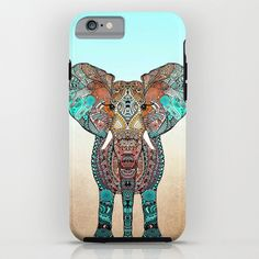Bohemian Elephant Cell Phone Case