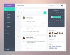 Task App Dashboard UI by Anton Aheichanka