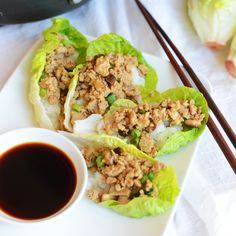 I don't think I've met a single person who didn't like PF Chang's Chicken Lettuce Wraps (vegetarians- YOU ARE MISSING OUT!). These are THE perfect way to start a meal...or be a meal for that ...