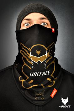Bandana NINJA Wolface for Riders 100% polyester and Microfleece more info www.shop.wolface.eu www.wolface.eu