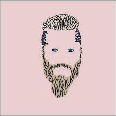 affiche minimaliste, Ragnard Lothbrok