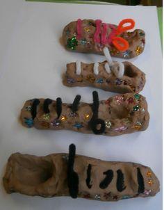 Schoenen boetseren