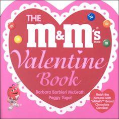 The M&M's Valentine Book by Barbara Barbieri McGrath http://www.amazon.com/dp/1570914222/ref=cm_sw_r_pi_dp_DwQ7tb02DVDV2