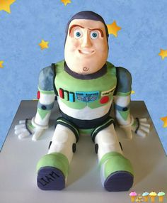 Buzz lightyear cake tutorial by Tasty Cakes