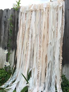 Ready to ship in 3-4 business days!  white lace, cream lace , and rose gold sequin fabric come together to create this beautiful timeless