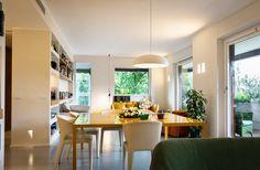 Abitazione Privata Milano - HI LITE Next #interior #lighting #design #fixtures #viabizzuno sistema 094, arco #led, Fontana Arte pangen