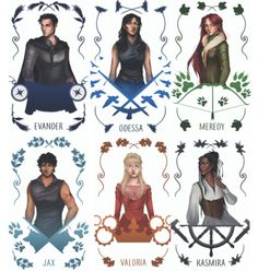 Have you seen these gorgeous character cards for #ReignoftheFallen?!? Enter to win a set and an ARC of Reign here! You can also join the amazing Sparrow's Watch and help spread the word about this gorgeous book yourself! Reign of the Fallen by...