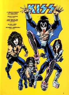 #comics and rock and roll combined! Who could ask for more :)