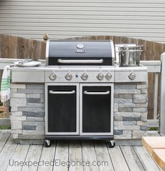 DIY Grill Station. This is really neat and can still move around!