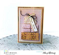 kartka na święta z prezentami Craft Shop, Create, Decor, Decoration, Decorating, Deco