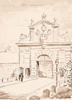 Karel Müller - Vyšehradská brána