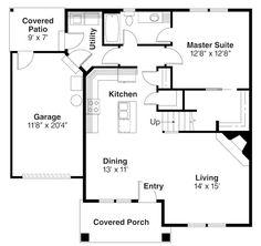 First Floor Floor Plan for Danville