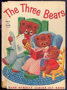 ''The Three Bears'', Illustrated by TonyBrice Publisher: Rand McNally & Company, 1942.