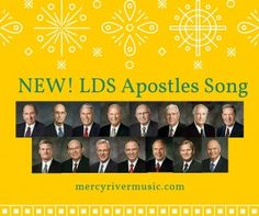 NEW! Learn the order of the First Presidency and the Quorum of the Twelve Apostles with this catchy song. mercyrivermusic.com