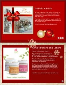 IBN's 2012 Handmade Holiday Holiday Gift Guide: Anna's Potions and Lotions and Zhi Bath & Body Holiday Gift Guide, Holiday Gifts, Handmade Soaps, Lotions, Bath And Body, Anna, Tips, Beauty, Xmas Gifts