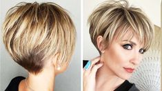 Top 10 Hottest Pixie and Short Haircut Ideas For Short Hair Pixie Haircut For Thick Hair, Bobs For Thin Hair, Short Thin Hair, Short Hairstyles For Thick Hair, Short Layered Haircuts, Haircuts For Fine Hair, Short Hair Styles Easy, Short Hair With Layers, Short Hair Cuts For Women