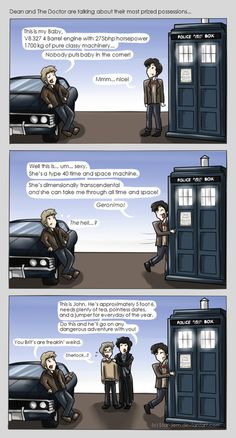 Superwholock - Most Prized Possessions by ~Star-Jem Absolutely love that superwholock is a thing