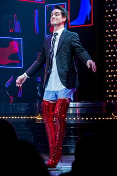 Beebo in Kinky Boots. I'm so proud :)