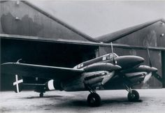 [IMAM Ro.58] -was an Italian twin-engined, two-seat monoplane fighter, a development of the IMAM Ro.57.The performance of the aircraft with the DB 601 engines was much better than even many single engine fighters of the time (605 km/h at 5,000 m, 1,500 km endurance, 10,500 m ceiling)Tested alongside an Me 210 it was found to be superior, but even so it initially had its share of problems that delayed production.development went on slowly and  By the time it was refined it was all too late