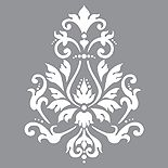 Schablon Brocade Vintage Style   Monicas Butik