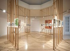 """Allestimento """"First the Forest"""" Canadian Centre for Architecture, Montréal, Canada"""