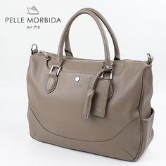 PELLE MORBIDA BRIEF BAG ペッレ モルビダ ブリーフバッグ(ショルダー付き) PMO-MB022(ベージュ) 【レビューを書いて送料無料】【楽天市場】
