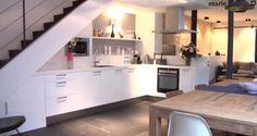 décoration cuisine grise - grey kitchen