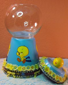 Baby Tweety for your little sweety. $25.00, via Etsy.