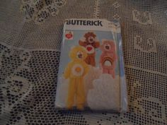 Care Bears Costume Sewing Pattern Size A 2-6X NEW UNCUT Butterick 6814 #Butterick