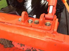 Ken's Bolt on Grab Hooks <<Kubota Hooks>> Kubota Compact Tractor, Compact Tractors, Tractor Accessories, Kubota Tractors, Tractor Attachments, Farm Boys, Hobby Farms, Outdoor Projects, Buckets